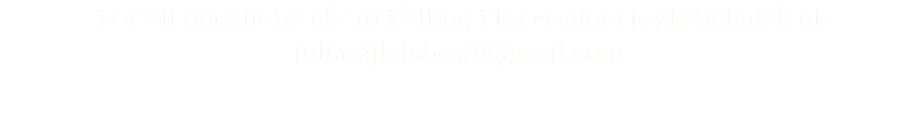 Falling Flat is currently looking for a network or production company interested in producing and distributing future episodes of the show. For all questions about Falling Flat, or to request a screening of the pilot, contact Joel Michalak at fallingflatshow@gmail.com